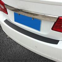 Rear Guard Bumper Trunk Sill Plate Rubber PAD Protector Trim Cover 90x8cm Gray