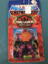 1986  MATTELTUNG LASHOR Tongue Shooting Snake Man! MASTERS OF THE UNIVERSE #2331