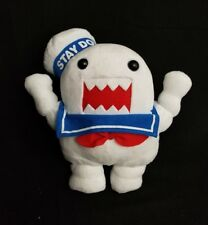 """Ghostbusters Domo Stay Puft Marshmallow Man Plush 11"""" Kellytoy Euc Pre-Owned"""