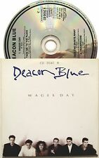 DEACON BLUE CD Wages Day + 3 LIVE Tracks 1989 Rare Card Sleeve EXCELLENT +