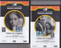 2 Dvd Sceneggiati Rai «COME UN URAGANO» con Alberto Lupo C.Pani completa 1971