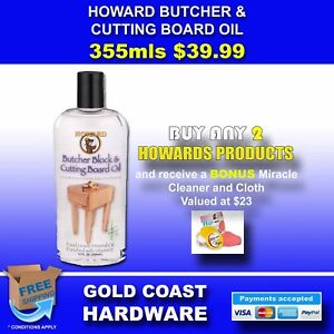 Howard Products Butcher Block & Cutting Board Oil