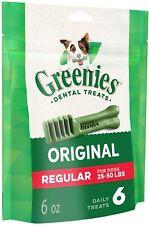GREENIES™ Original Dog Dental Treats Regular, 6oz (6 treats)