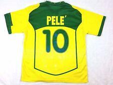 Brasil Brazil #10 Soccer Futbol Jersey Neymar Football Sht Vtg Pele Kaka Men XXL