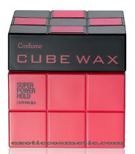 Confume Cube Hair Wax - Super Power Hold **spiky style for short hair**