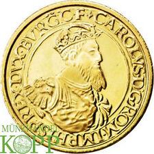 R561) BELGIEN 50 ECU 1987 - 30 Jahre Römische Verträge - Gold