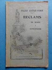 Reclams Béarn Gascogne N° 10-11-12 1945 Camelat Puchéu Saint-Bézard Allemagne