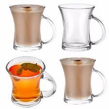 6 X Set Bere Tè Caffè Chiaro Acqua Succo cocktail in vetro Regalo Boxed