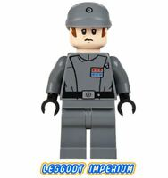 LEGO Minifigure Star Wars - Imperial Commander - sw582 rare officer FREE POST