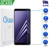 2x Tempered Glass Film Screen Protector For Samsung Galaxy A5 A6 A7 A8 A8+ 2018