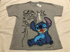 Disney Lilo and Stitch Pixel Dot Style Stitch Design Boys/' T-Shirt