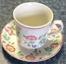 Churchill England China, Briar Rose Cups And Saucers,  Set of 4; VGUC!!