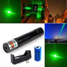 600 Miles Astronomy Green Laser Pointer Pen Handheld Lazer with Battery&Charger