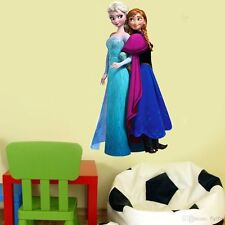 Pegatina Mural de Frozen Anna Elsa infantil Decoración Interior Adhesivo
