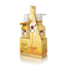 Wild Ferns Manuka Miele TWIN PACK GEL DOCCIA & Body Lotion