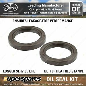 Gates Timing Belt Oil Seal Kit for Mazda E-Serie Telstar 626 929 2.0L