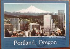Portland, Oregon Mt. Hood Spectacular postcard Used