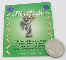 Football Guardian Angel Pin by Cathedral ... Made in U.S.A.     #571