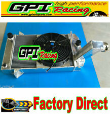 ALUMINUM RADIATOR+shroud+  FAN FOR TRIUMPH TR2/TR3/TR3A/TR3B MT 1953-1957 56