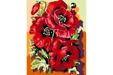 PAINT BY NUMBERS KIT KING POPPIES