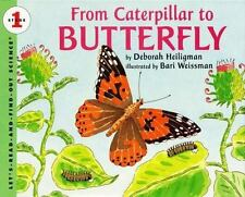 NEW - From Caterpillar to Butterfly  (Let's-Read-and-Find-Out Science, Stage 1)