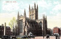POSTCARD   SOMERSET   BATH  The  Abbey