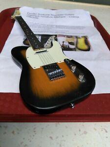 Fender Sunburst Telecaster Guitare classique miniature