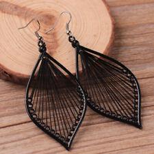 Women Leaf Eardrop Studs Earrings Boho Hook Drop Dangle Earrings Jewelry Gift DP
