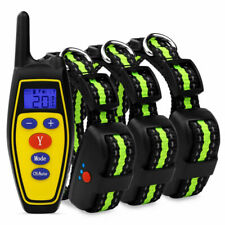 Electric Remote Dog Training Collar Rechargeable Shock Collar For 1/2/3 Dogs