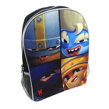 World of Warriors Kids Childrens Boys Backpack RuckSack Schoolbag Satchel