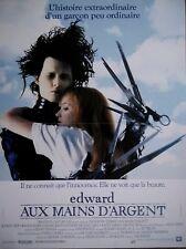 EDWARD AUX MAINS D'ARGENT Affiche Cinéma 53x40 Movie Poster TIM BURTON