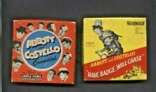 VINTAGE 8MM TAPE MOVIES OF ABBOTT AND COSTELLO 2 DIFFERENT CLASSIC TV