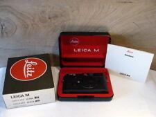 "Leica 10404 - Leica M6 Body/Gehäuse schwarz ""1a Sammlerstück"" - Boxed !"
