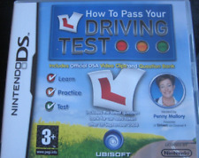 BNIB~ DS LITE DSi 3DS 2DS:~ HOW TO PASS YOUR DRIVING TEST~ {Manufacturer Sealed}