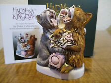 Harmony Kingdom Caterwauling Capers Drunken Cats Uk Made Box Figurine Sgn