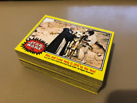 Star Wars - Series 3 (YELLOW) - Complete Trading Card Set (66) 1977 - EX+/NM