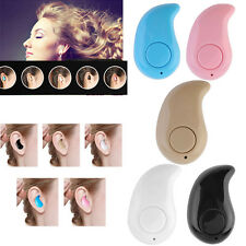 Mini Wireless Bluetooth 4.0 Stereo In-Ear Headset Earphone For iphone Samsung *