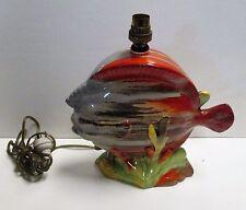 Original Clarice Cliff Fish Lamp