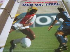 Fußball 14 1993-1994 Niederlande Ajax wieder Miester 24. Titel George Finidi