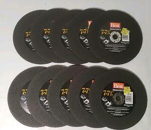 "Do It Best Hardware Masonry 7-7 1/4"" Cutoff Wheels - New Old Stock (LOT OF 10!!)"