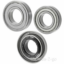 CREDA GE Washing Machine Drum Bearing Kit 35mm Bearings W200FW W220VW WMA33PE