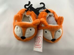 NEW Swiggles Infant Fox Slippers Size 6