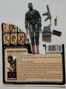 Vintage 1983 GI Joe Firefly Cobra Saboteur