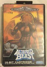 Altered Beast Sega Mega Drive (FAST & FREE SHIPPING )