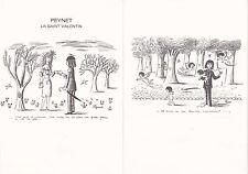 Document Philatélique Timbre 1er Jour : 14/02/ 1985 - Saint Valentin Peynet