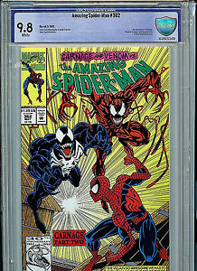 Amazing Spider-man #362 CBCS 9.8 NM/MT Marvel Comics 2nd Carnage