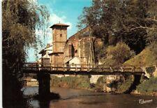 St-JEAN PIED de PORT  - La Nive et l'église