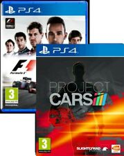 Formula 1 2015 F1 15 & Project Cars PS4 New & Sealed