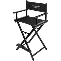SHANY Studio Director Chair - Makeup Artists Chair - Black