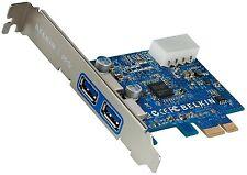 Belkin SuperSpeed USB 3.0 tarjeta de expansión PCI Express F4U023cw Windows 7/XP/Vista